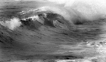 Photos En Noir Et Blanc De Bretagne Bord De Mer Plages Vagues Et Rochers Des Cotes Bretonnes Images Louis Bourdon