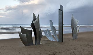 Monument des braves à Omaha Beach